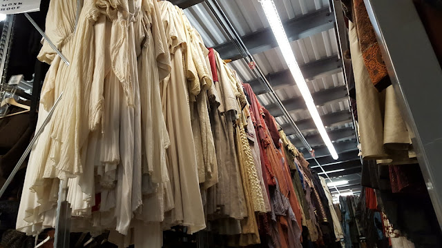 Racks and racks of clothing at the Stratford Festival Costume Warehouse. From Visiting Stratford, Ontario? The first thing you need to do...