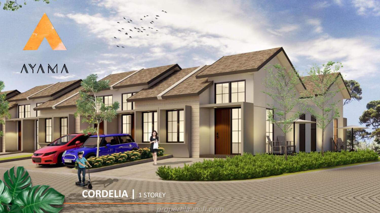 Rumah Ayama Tangerang Tipe Cordelia