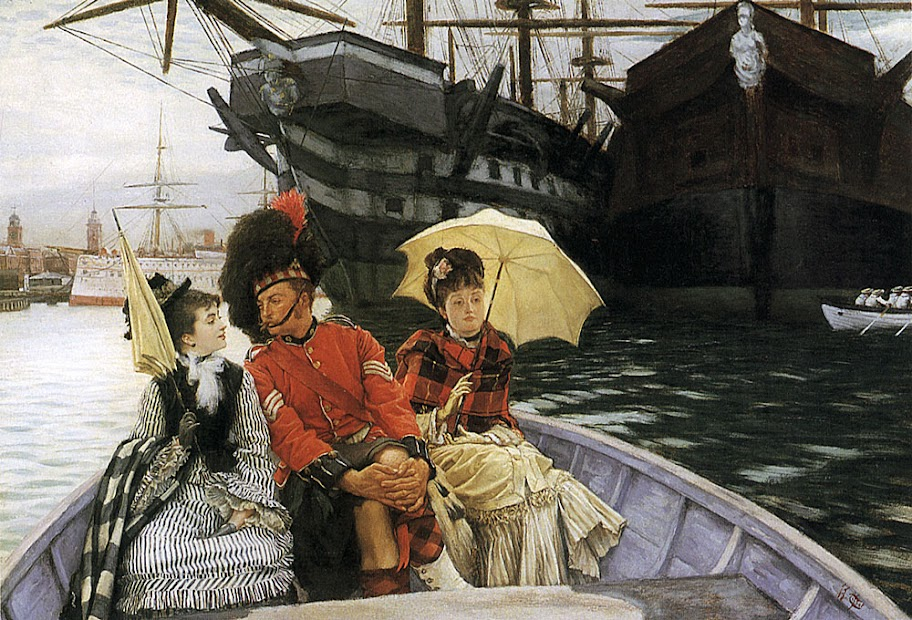 James Tissot - Portsmouth Dockyard