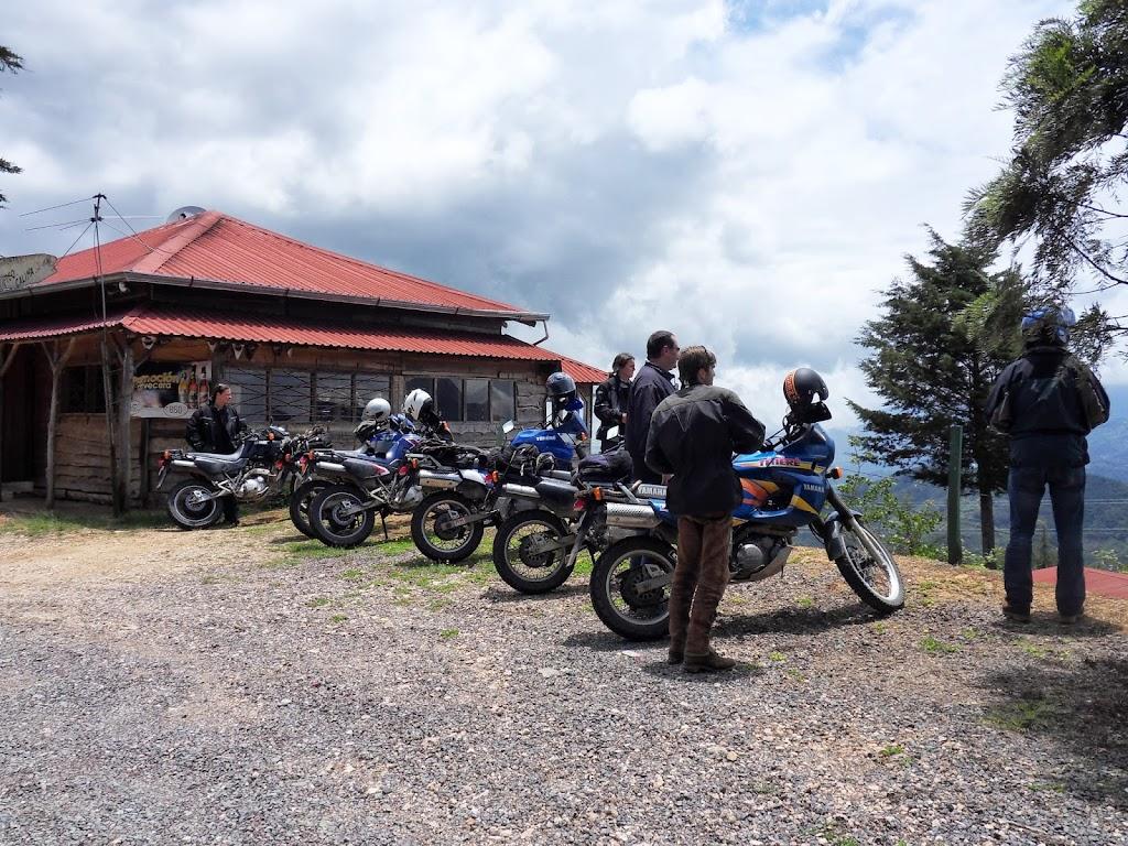 Aussichtspunkt in den Bergen