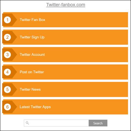 Seu blog está redirecionando para outra url: http://quickdomainfwd.com/?dn=twitter-fanbox.com&pid=9PO755G95 - como resolver