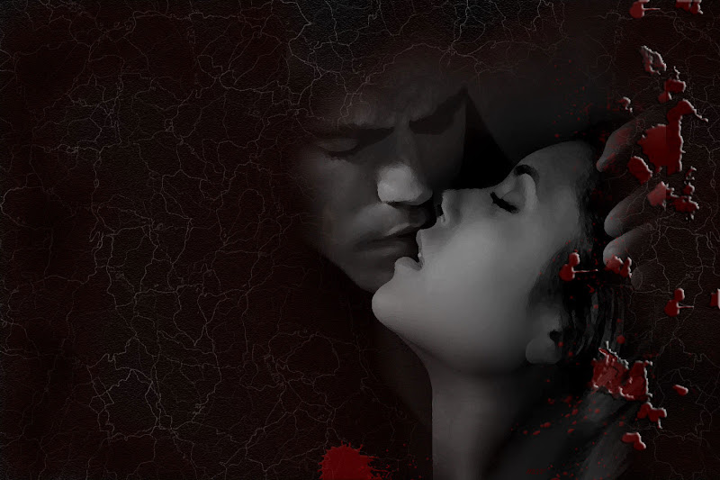 Bloody Kiss The Vampire Diaries, Bloody