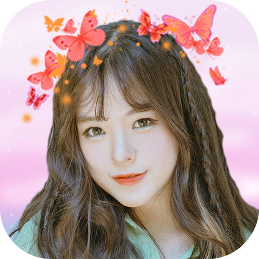 Butterfly Crown Photo Editor