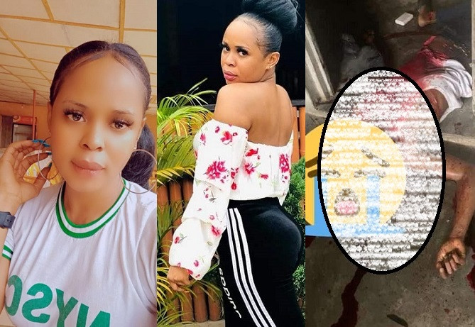 Corps member arrested for allegedly hacking a man to death in Akwa Ibom after 'hook up' (Graphic Photo)