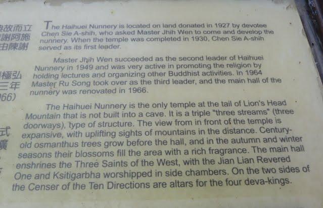 Un temple, des nones