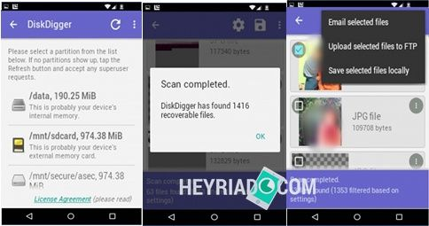 Perasaaan yang sangat kesal akan timbul ketika foto Mengembalikan File Terhapus Di Android Dengan DiskDigger