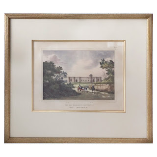 Louis Auguste de Sainson Hand-Colored Lithograph Plate #1