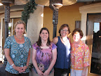 K. C. Weigel, Rhonda Planchet, Gina Mitchell and Melinda Bankus