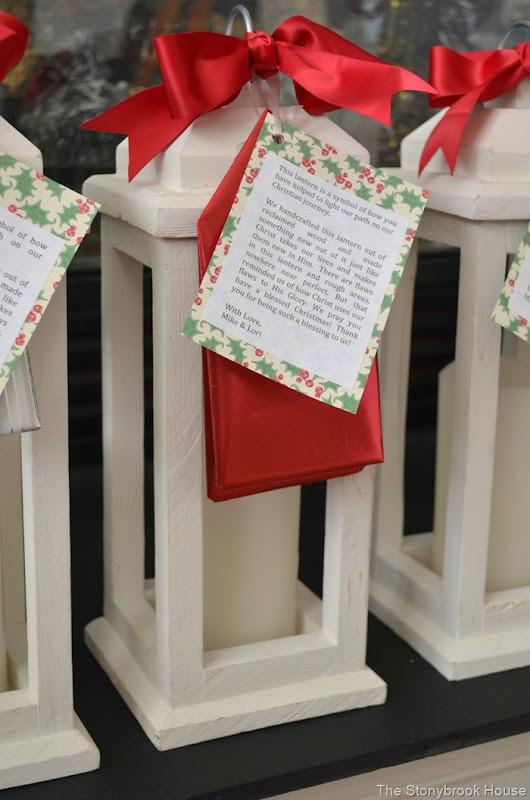 Christmas Wood Lantern
