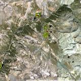 Haute Ubaye : localisation des photos (La Blachière, Maurin, Maljasset, Bergerie de Mary)
