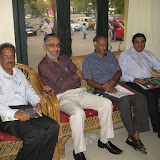 L.Ravichandran of Chennaionline, K.R.Venkataraman, Ram Santhanam of TVS and Ramesh Rengarajan of The Hindu