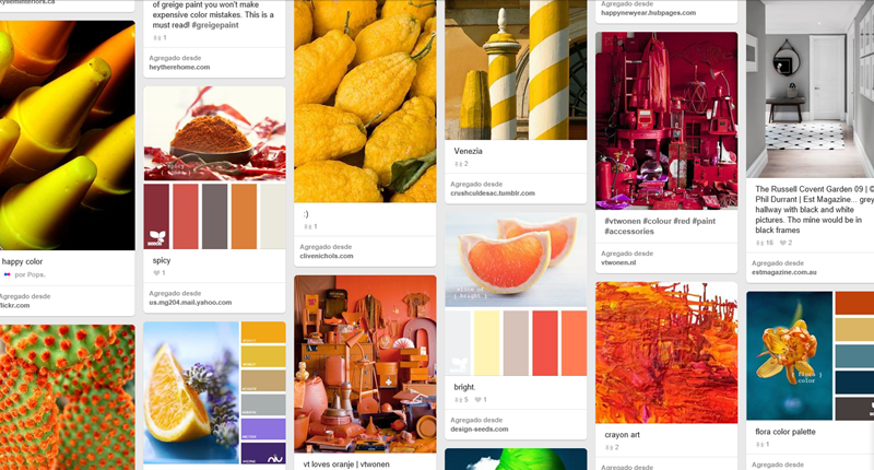 15 tableros de Pinterest enfocados en la tipografía, colores y diseño