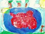 Cranberry Harvesting by Sara