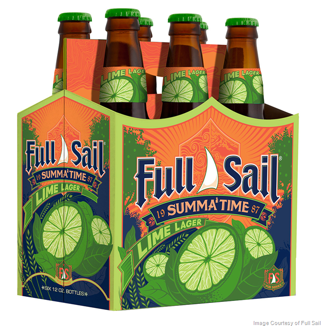 Full Sail Adding New Summa' Time Lime Lager