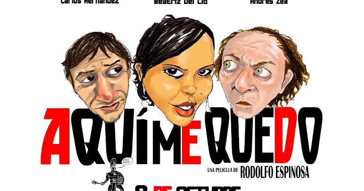 "Cine - foro de ""Aquí me quedo"" película guatemalteca"
