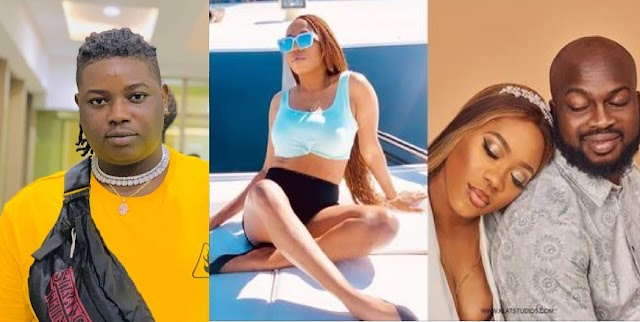 Bolanle That Everyone Dey Manage You Marry Am, Now You Chop Breakfast – Barry Jhay reacts to video vixen, Bolanle's marriage crash [Video]