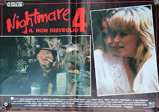 Italian Lobby card Nightmare 4 2 of 6  26x19 #1