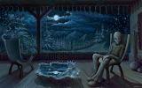 Fantasy Dark Art Wir Sind Nicht Alleine