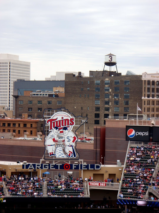 target field wallpaper. tattoo A view of Target Field prior target field logo. logo in center field.