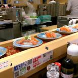 amazing salmon at Katsu Seibu Shibuya-ten in Tokyo, Tokyo, Japan