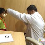 Eye Checkup for JR.KG Section 2017-18 at Witty World, Bangur Nagar
