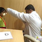 Eye Checkup for JR.KG Section 2017-18 at Witty World, Bangur Nagar