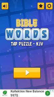 Bible Words Tap Puzzle-KJV - náhled