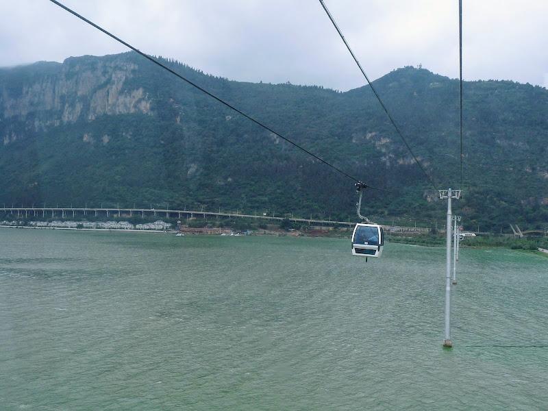 CHINE.YUNNAN.KUNMING , temple Lac Dian Chi - P1270740.JPG
