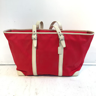 Coach Canvas Travel Tote