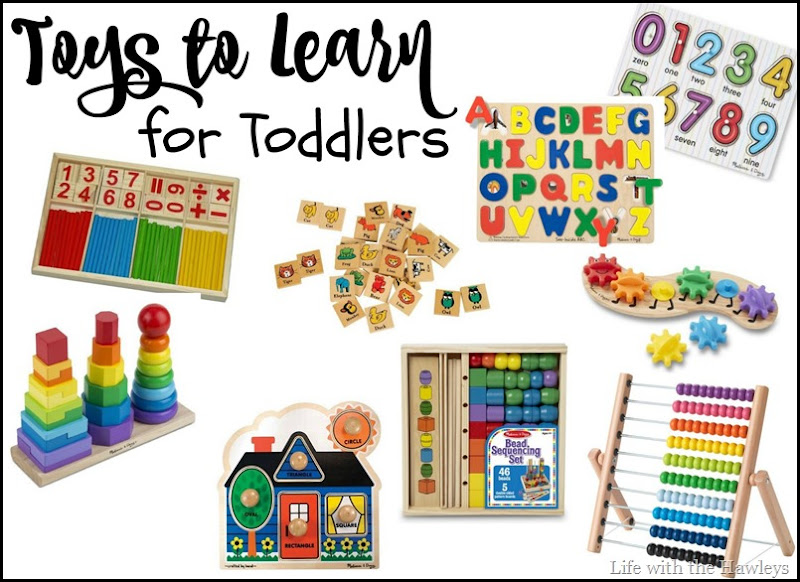 Toys to Learn For Toddlers