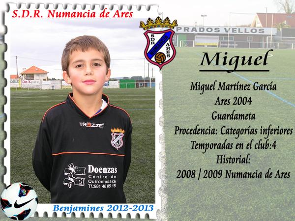 ADR Numancia de Ares. Miguel.