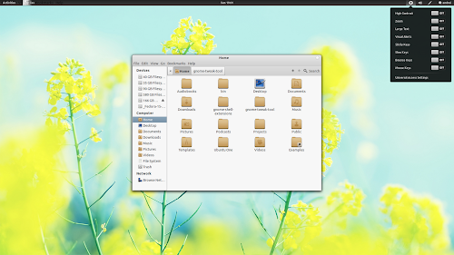 Faience GNOME Shell theme