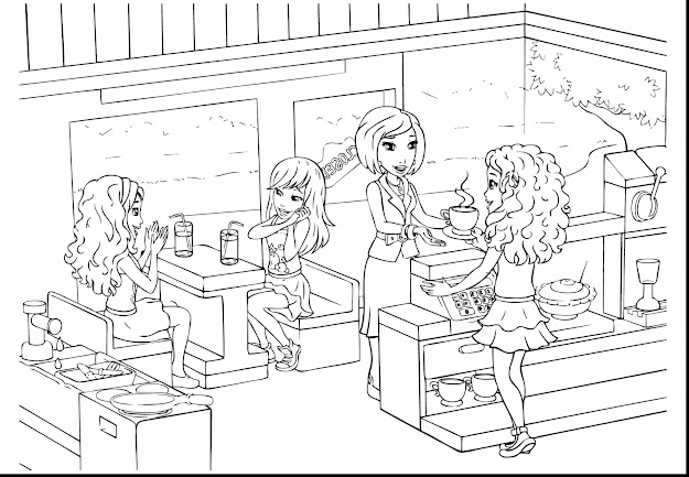 Outstanding Lego Friends Coloring Pages Printable Panda With Lego Friends  Coloring Pages And Lego Friends Coloring