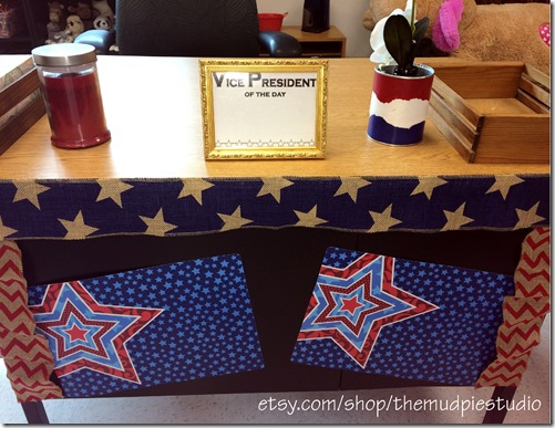 Patriotic Classroom by mudpiestudio