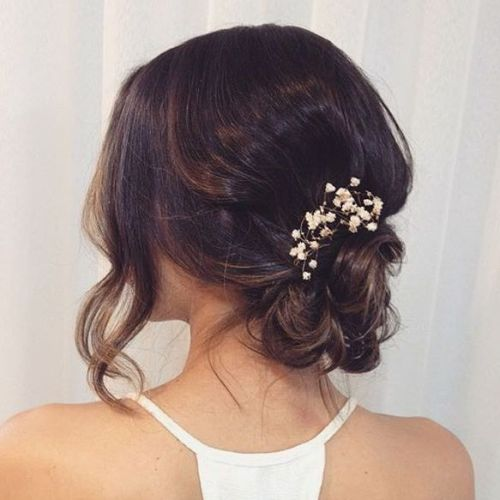 The trendy Wedding Hairstyles For And include hair color 2017 13