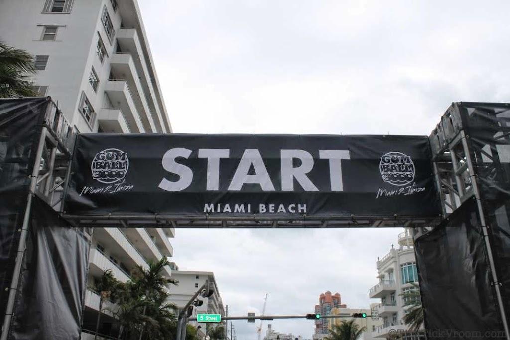 2014 Gumball 3000 Miami 2 Ibiza Ocean Drive 7985