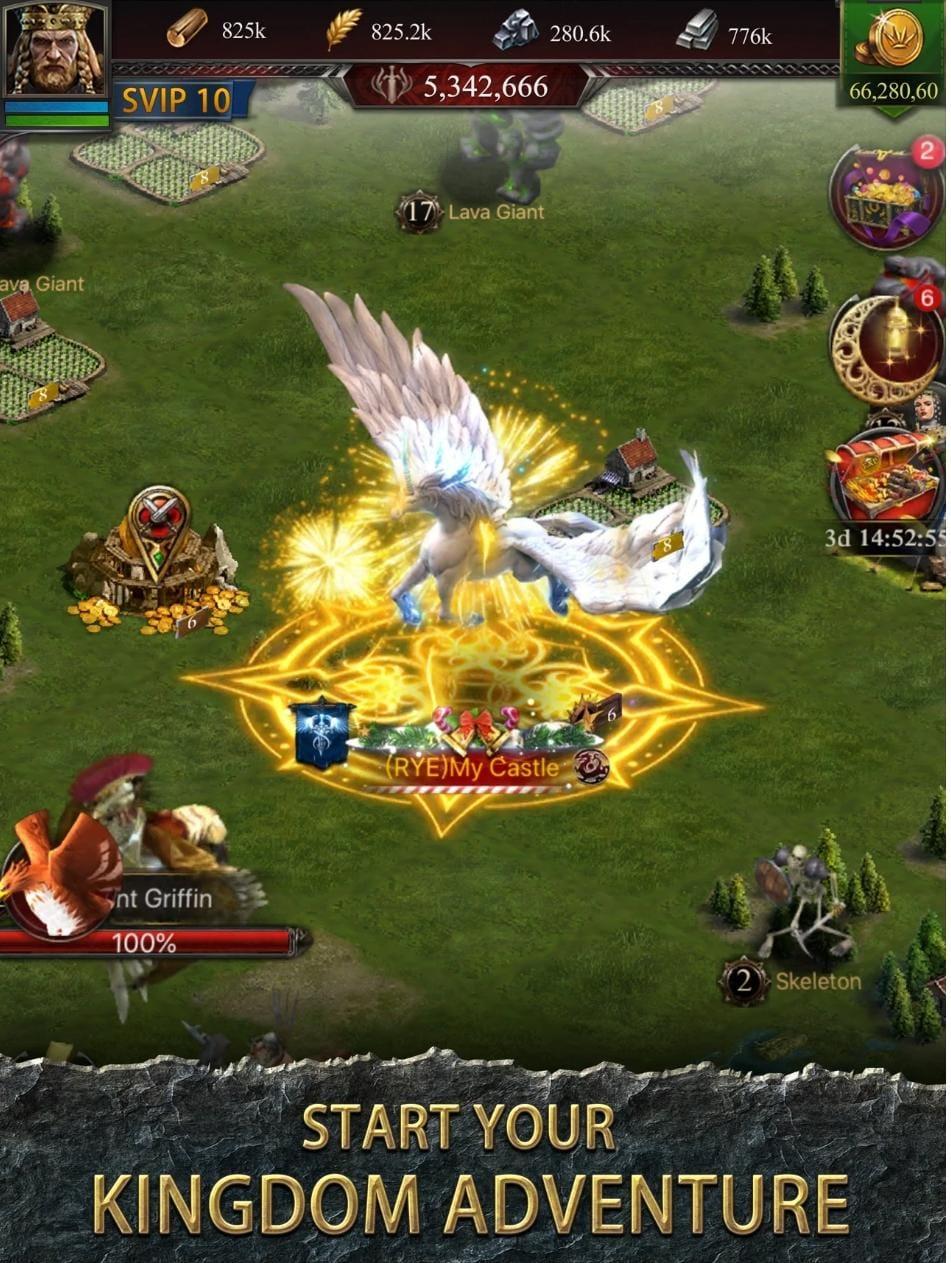 Clash of Kings Mod APK iOS