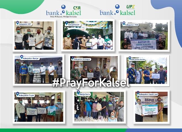 Melalui CSR dan UPZ, Bank Kalsel Gelontorkan Dana untuk Banjir Kalsel