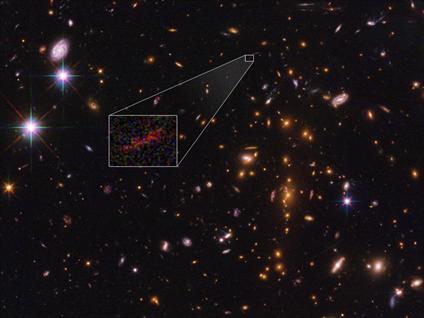 aglomerado de galáxias SPT-CL J0615-5746