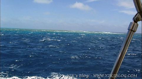 Corrente nella pass di Minerva Reef Nord