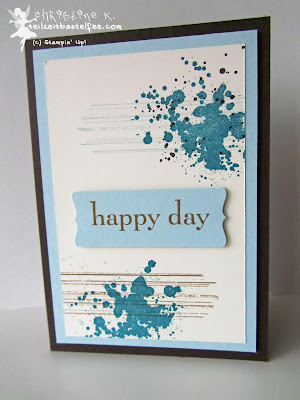 stampin up, inkspire_me #138, gorgeous grunge, happy day, sonnenschein