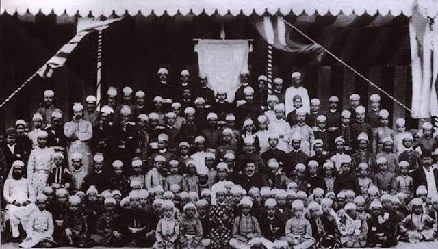 Student of Nizam college 1890