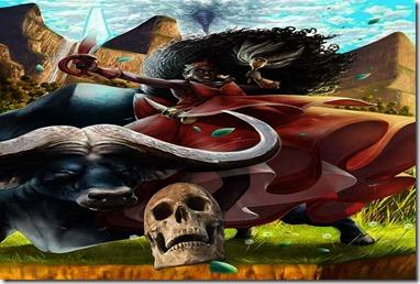 Oya - iansa - ritual axexe - funebre - morte - funerario - orisha - orixá - oia - orisa - candomble - umbanda