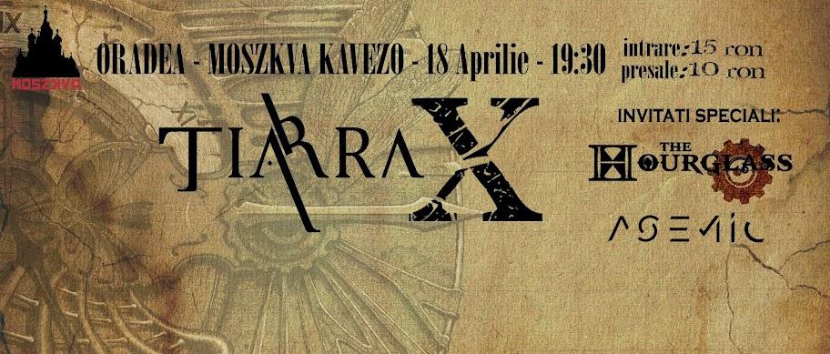 Concert Tiarra şi lansarea albumului X, Moszkva Cafe #1