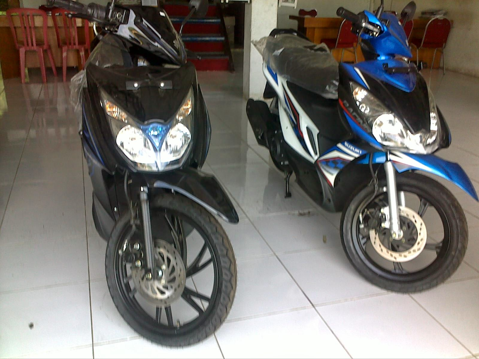 Modifikasi Motor Suzuki Hayate 125