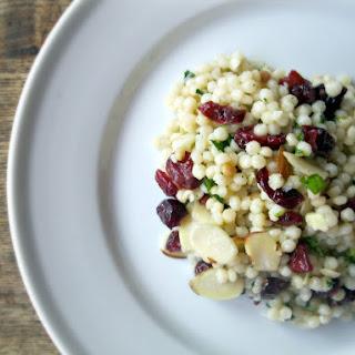 Cranberry Almond Couscous Salad.