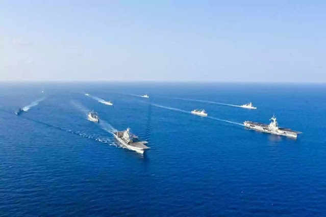 For the first time India and Quad nations to join France for war games
