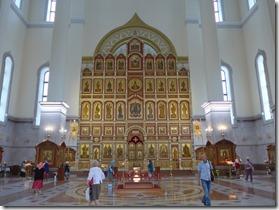 khabarovsk Spaso Preobrazhenskiy iconostase