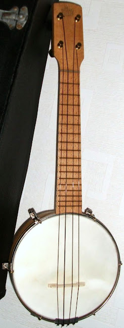 george houghton and Sons The Marvel  Banjolele Banjo at Lardy's Ukulele Database