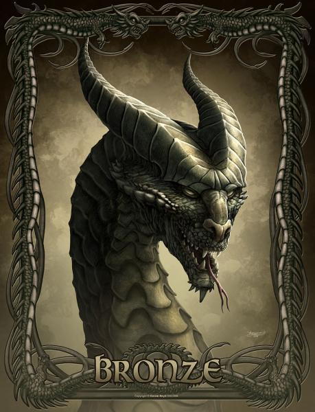 Dragon Bronze, Dragons